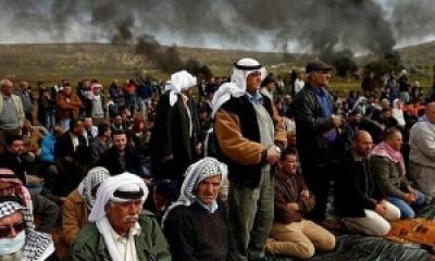 Giliran Penduduk Kampung Al-Mughair di Ramallah Melakukan Perlawanan
