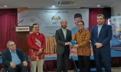 SADAQA Menghadiri Undangan Grand Launching Website Aqsa Pedia di Kuala Lumpur